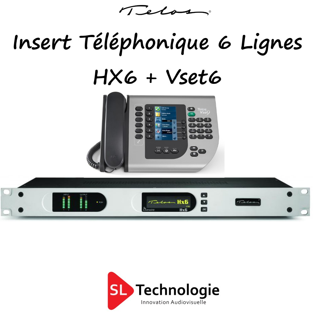 HX6 + Vset6 TELOS