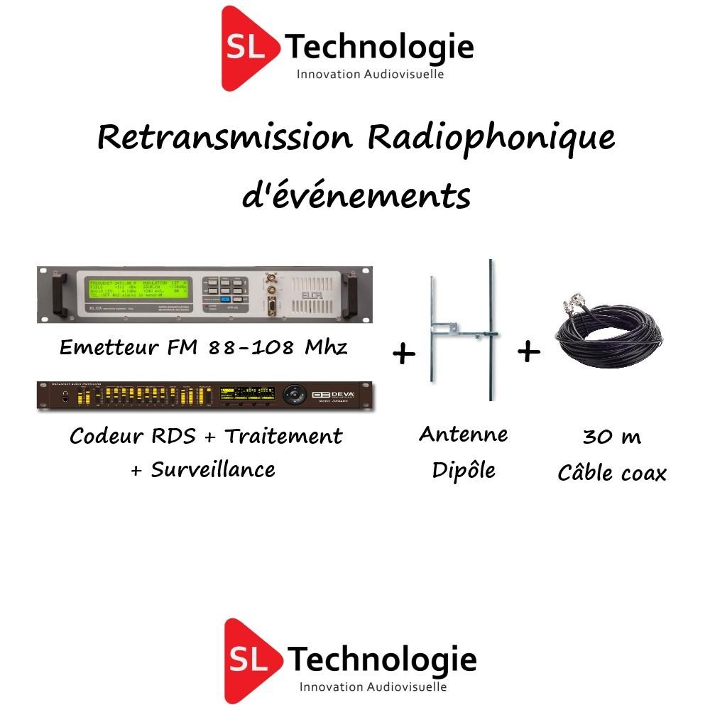 Retransmission Radiophonique d'événements