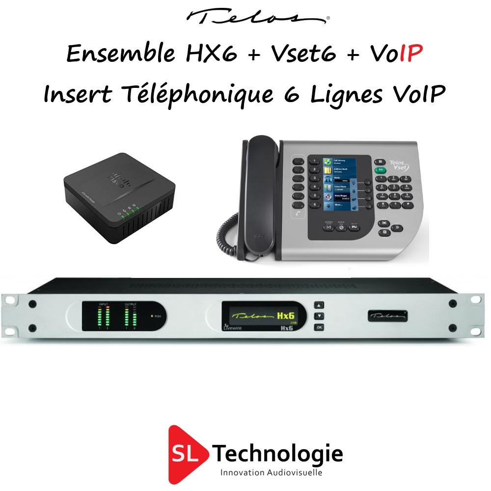 HX6 + VSET6 – VoIP