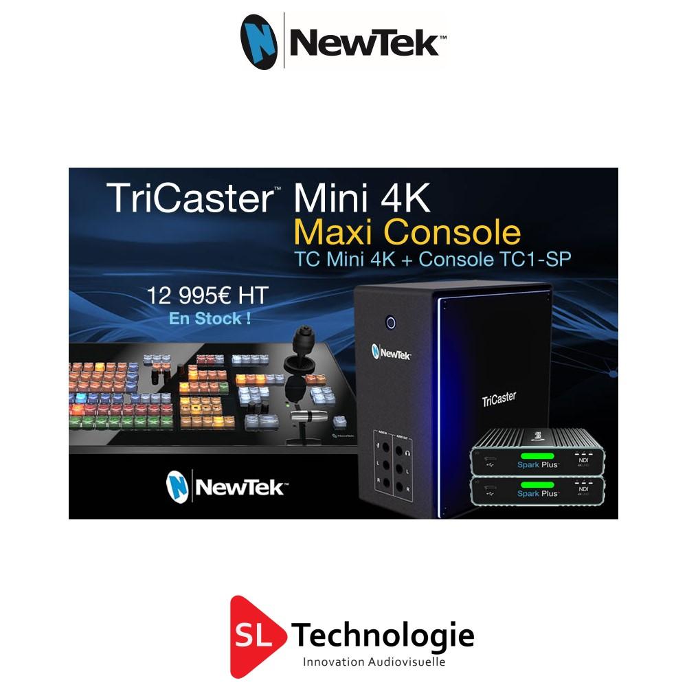 Tricaster Mini 4k TC1-SP Bundle NewTek
