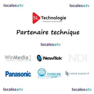SL Technologie Partenaire Technique Locales TV