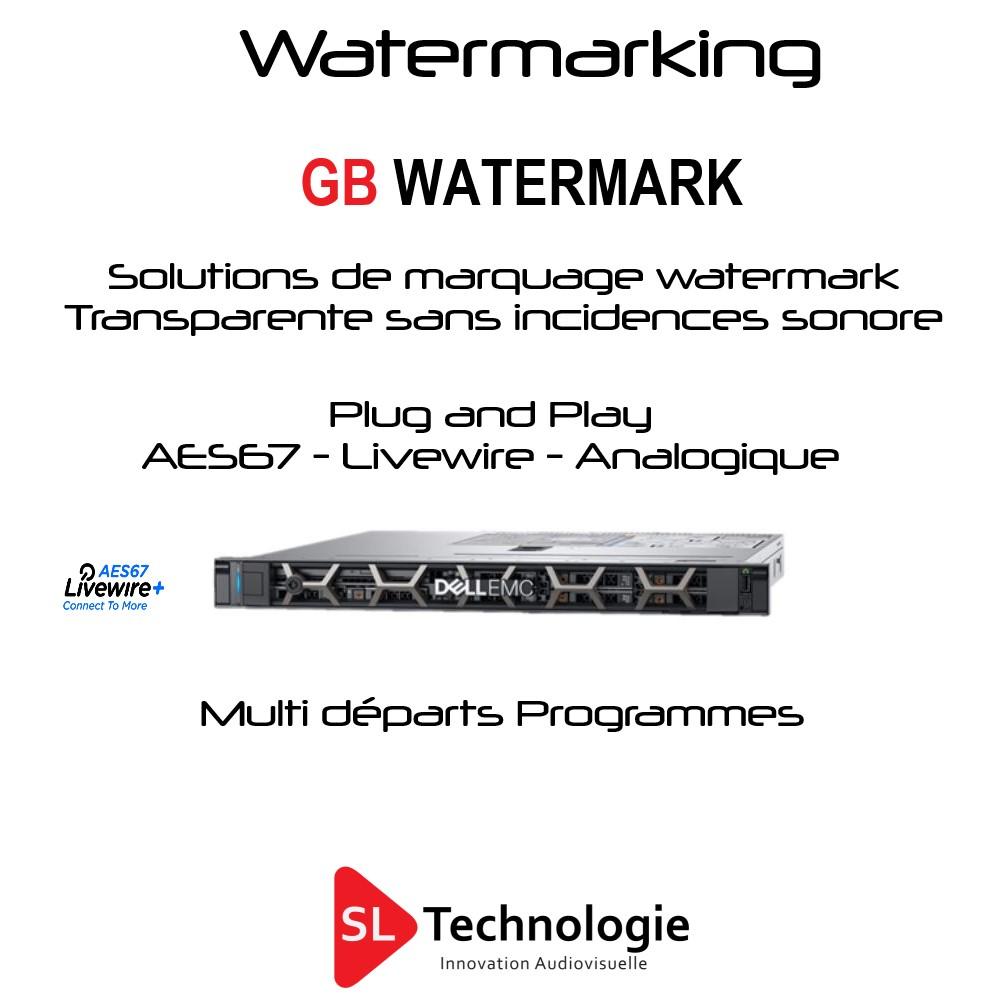 GB Watermark de 1 à plusieurs Départs/Programmes