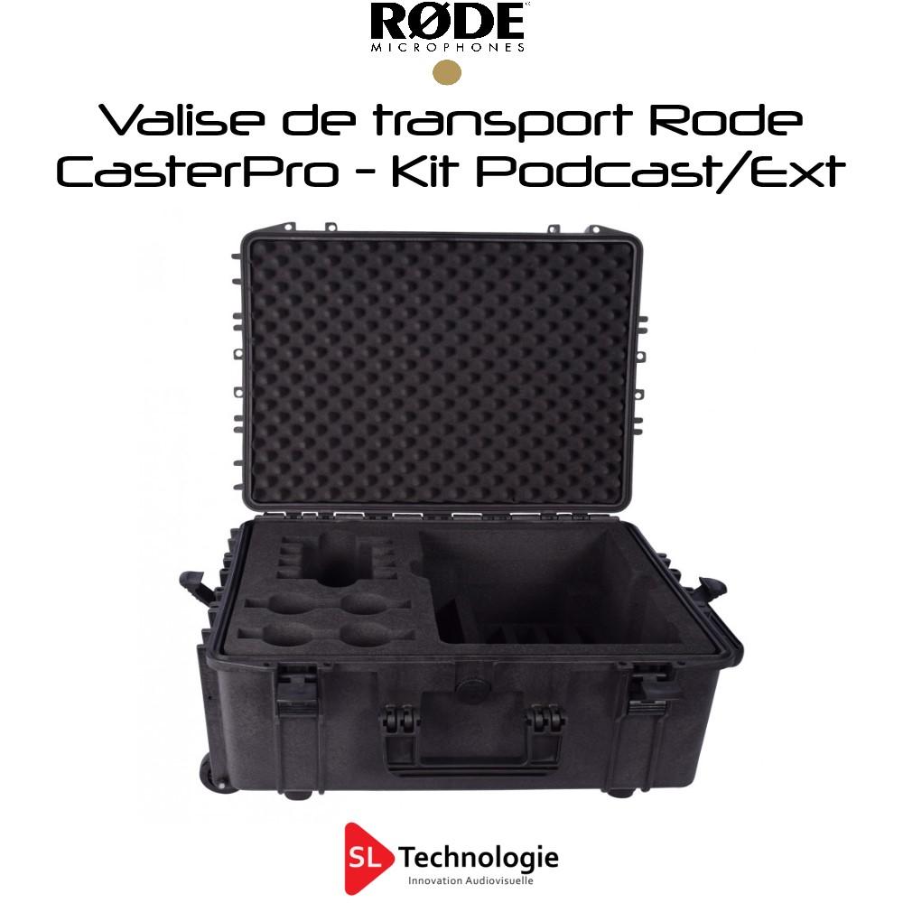 Valise Pour Kit Podcasting Rode CasterPro