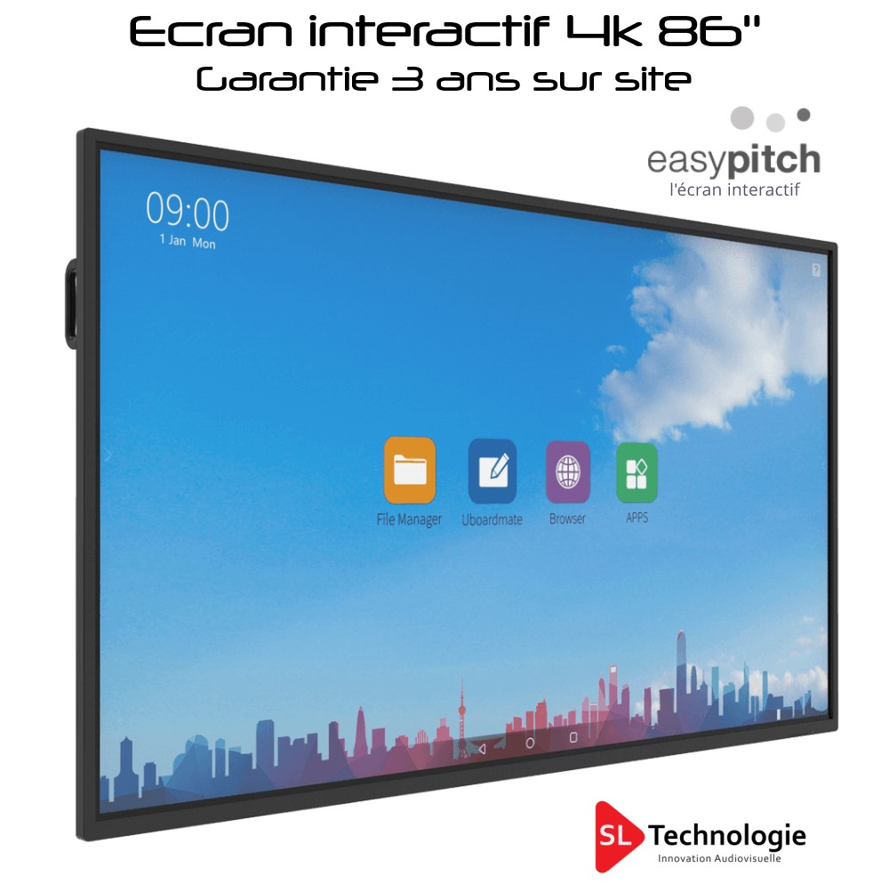 LE-86PH74 86″ 4K Android 8 EASYPITCH