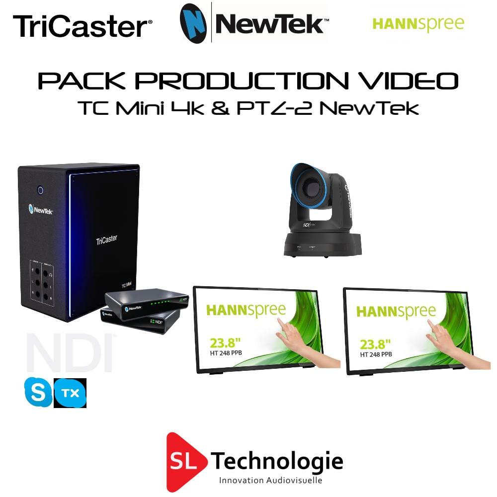 Pack TC Mini 4K + 1x PTZ-2 NewTek