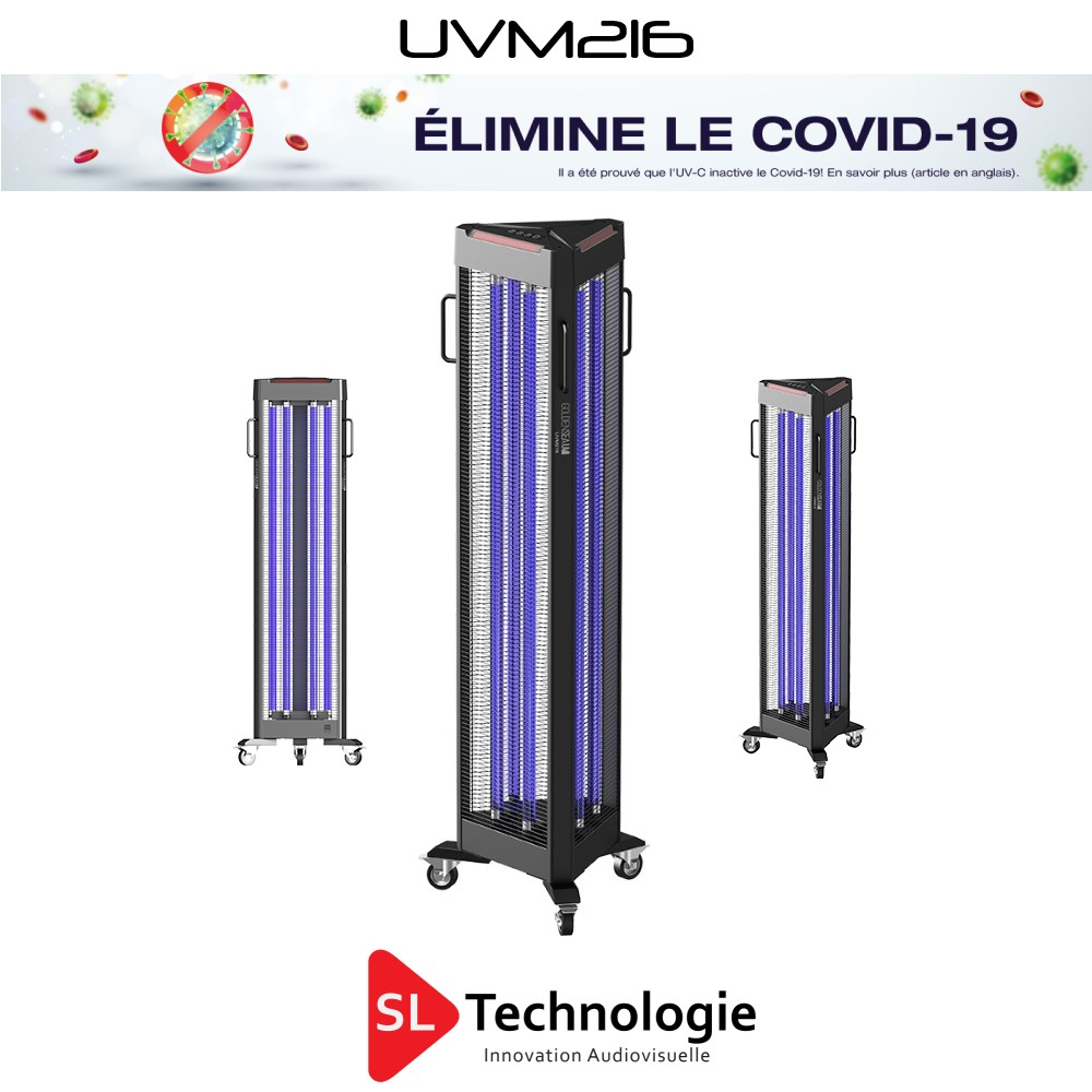 UVM216 Désinfection UV-C