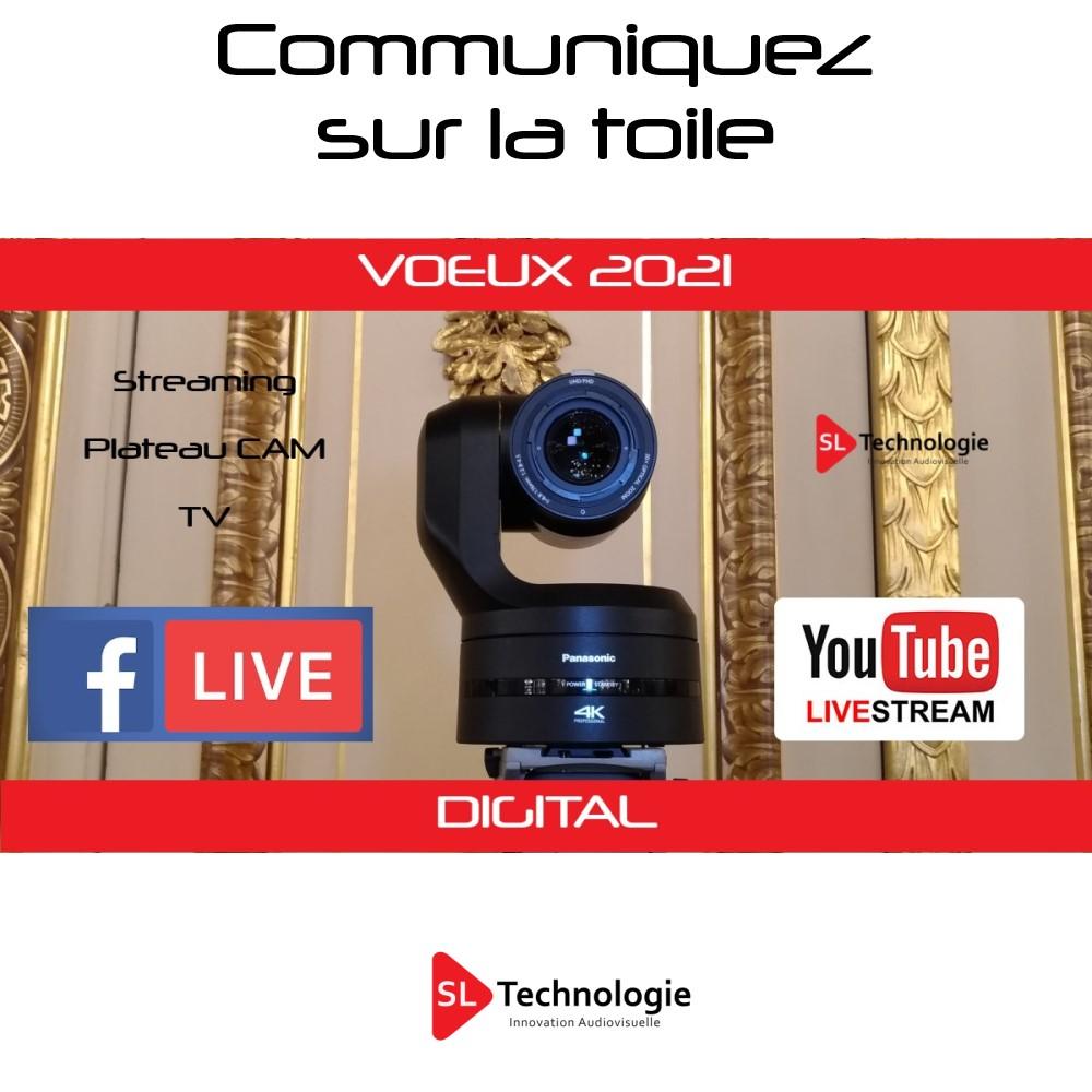 VOEUX 2021 – Streaming Vidéo