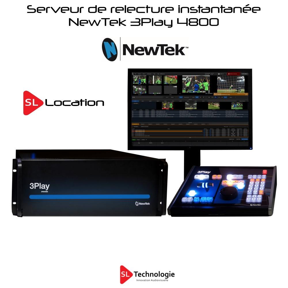 3Play 4800 NewTek Serveur de ralentis