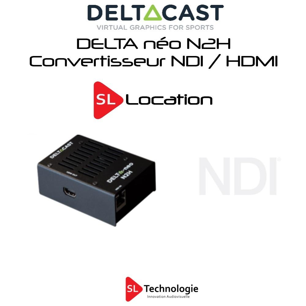 Décodeur NDI HDMI N2H DeltaCast
