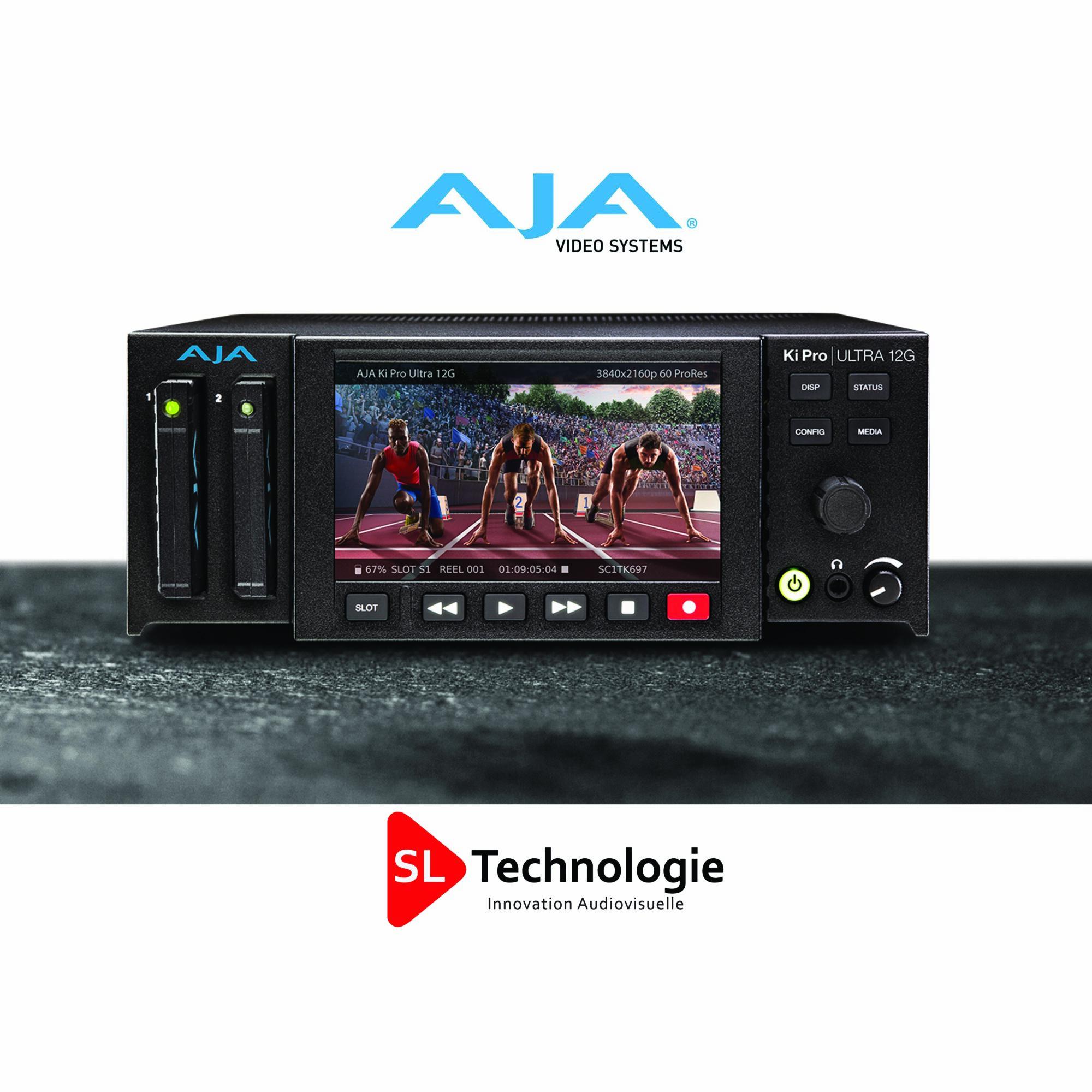 Ki Pro Ultra 12G – Enregistreur et lecteur 12G-SDI 4K / UHD / HD Enregistreur HD multicanal  – AJA