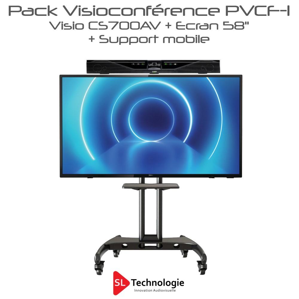 Pack Visioconférence 58″