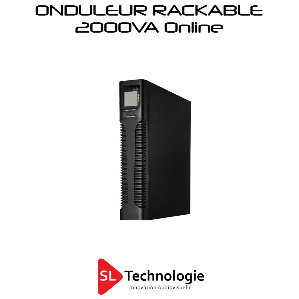 Onduleur 2000VA Online Rackable