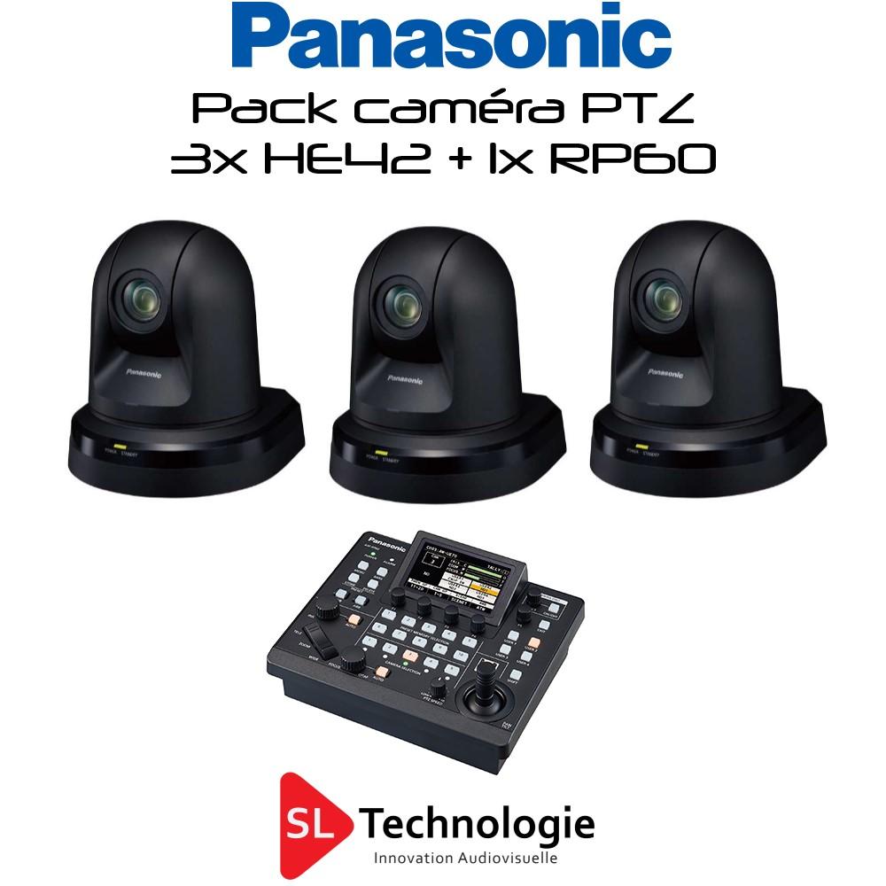 Pack Caméra PTZ HE42 + RP60 Panasonic