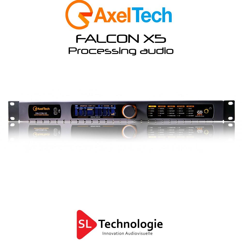 Falcon X5 Processeur Audio 5 Bandes Axel Tech