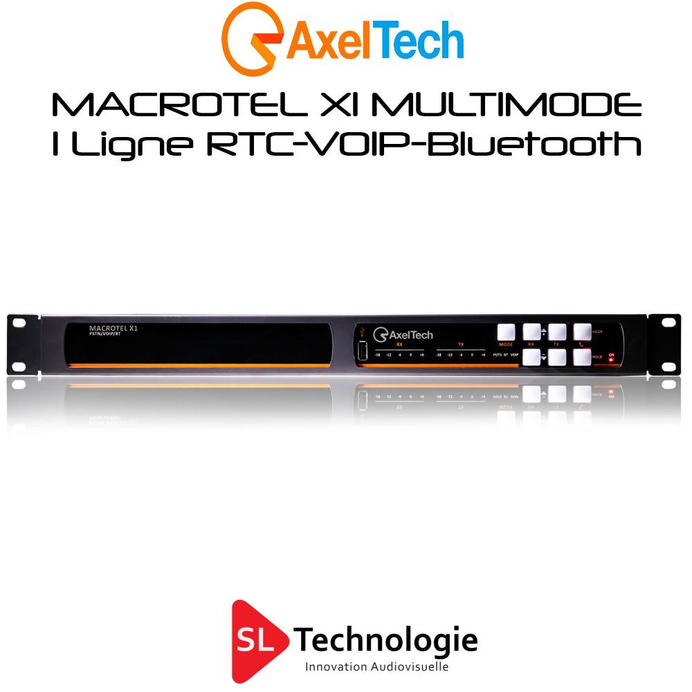 MACROTEL X1 MULTIMODE Insert Téléphonique RTC/VOIP/Bluetooth