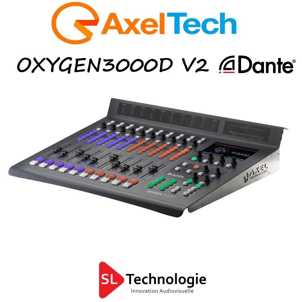 Oxygen 3000D V2 Dante Console Radio diffusion