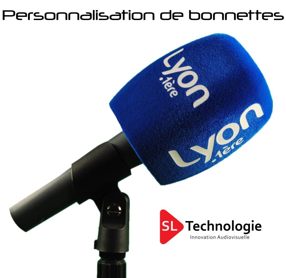 Bonnettes Personnalisées pour microphone