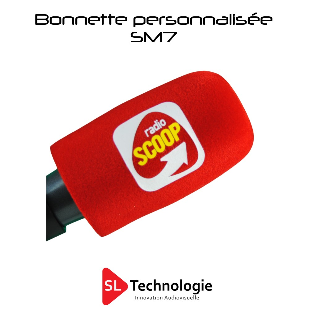 Bonnette Personnalisée micro SM7 Shure