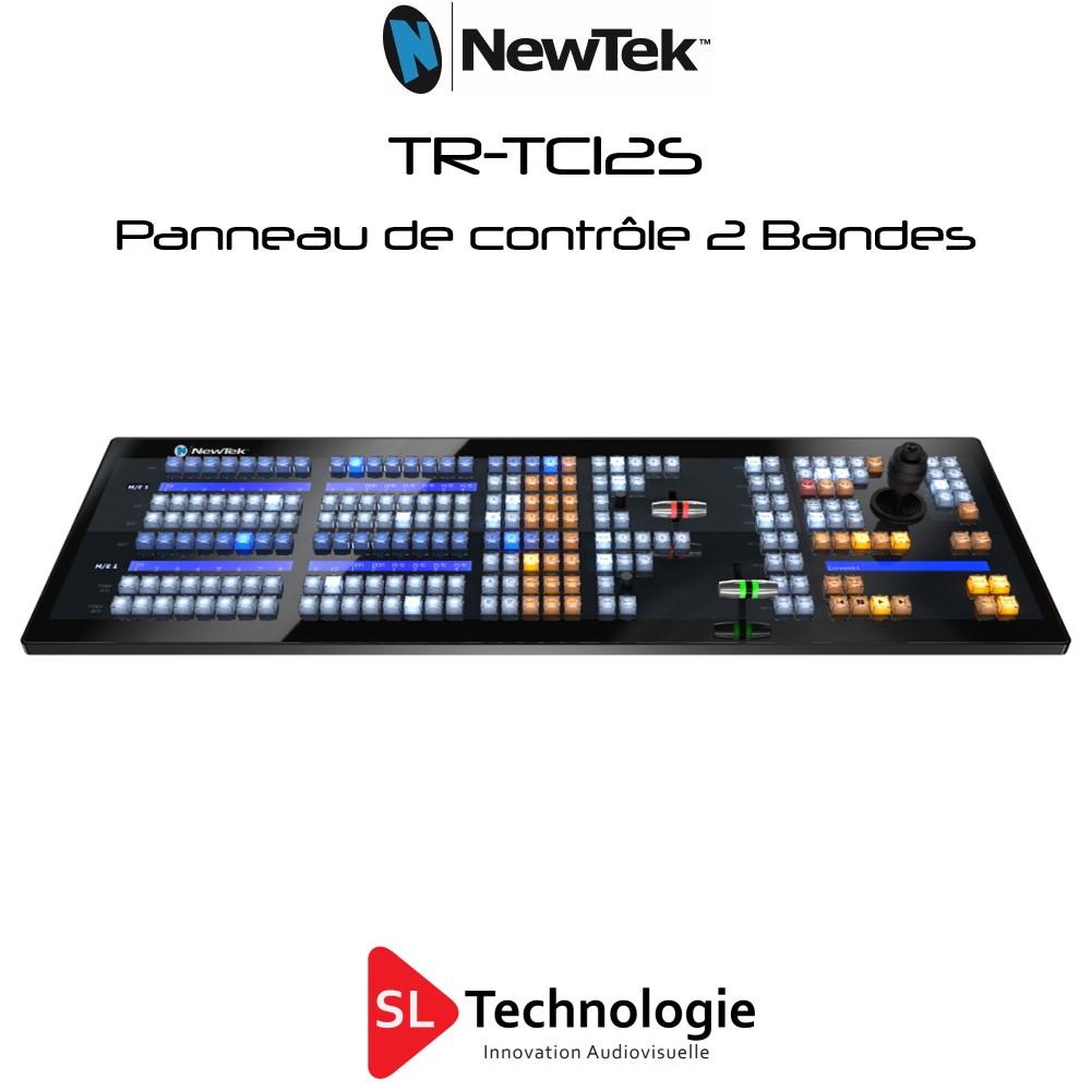TC12S NewTek Panneau de configuration à 2 bandes