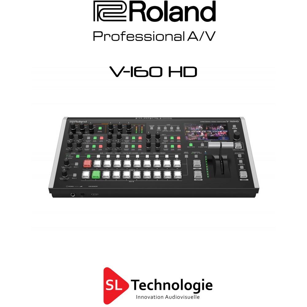 V 160 HD Roland Mélangeur vidéo HD 16 entrées
