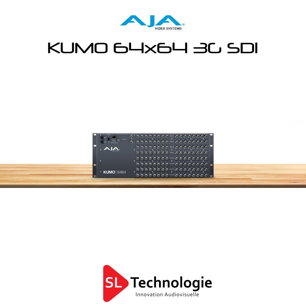 KUMO 6464 3G SDI Routeur vidéo AJA