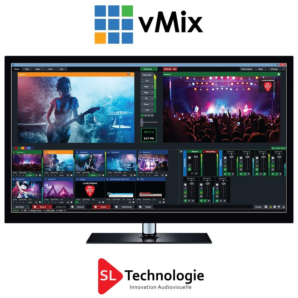 You are currently viewing vMix Logiciel de production et de diffusion en direct