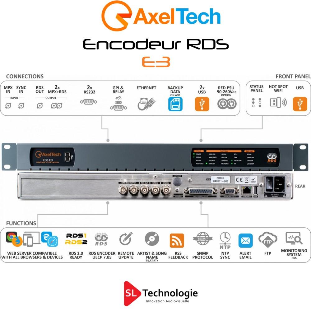 E3 Encodeur RDS Axel Tech