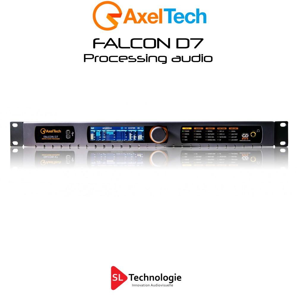Falcon D7 Processeur Audio 5 Bandes Axel Tech