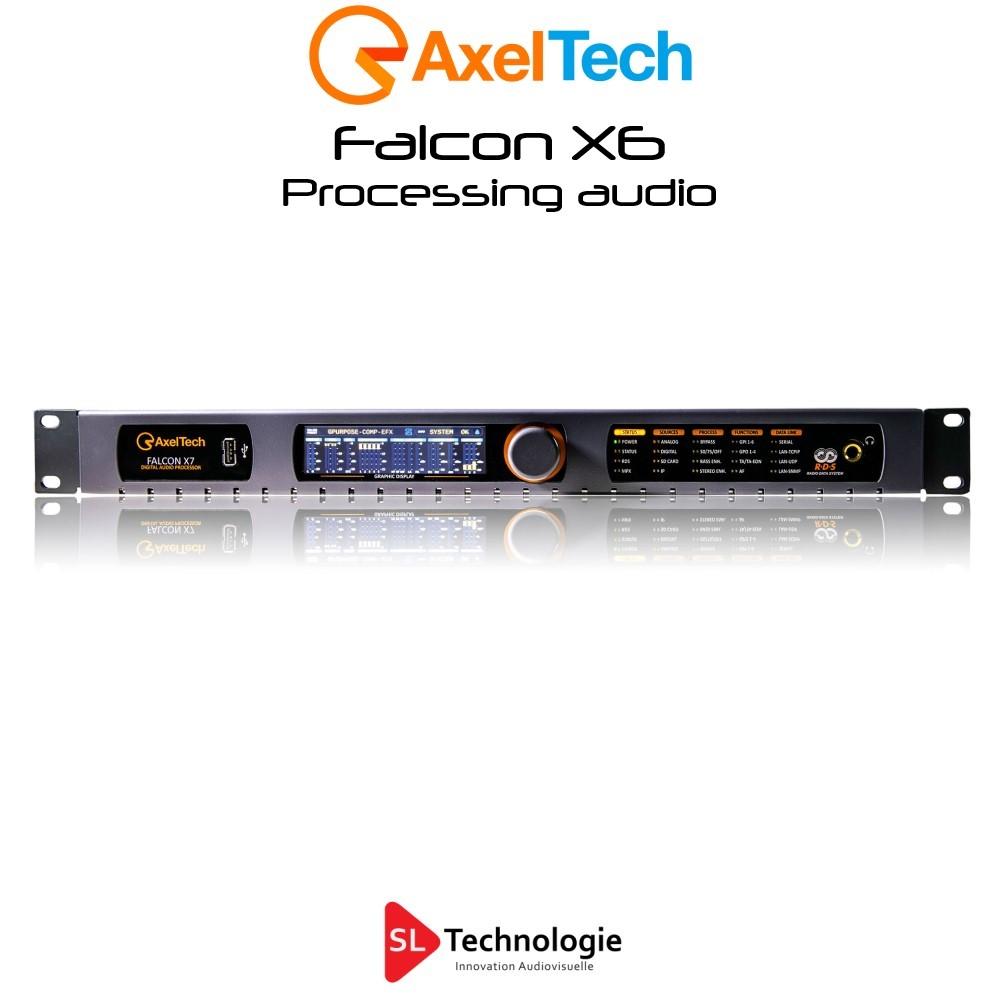 Falcon X6 Processeur audio 5 bandes Axel Tech
