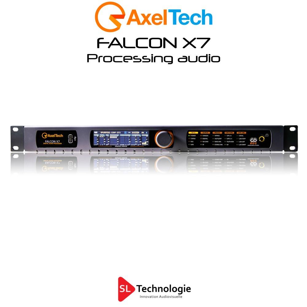 Falcon X7 Processeur audio 5 Bandes Axel Tech
