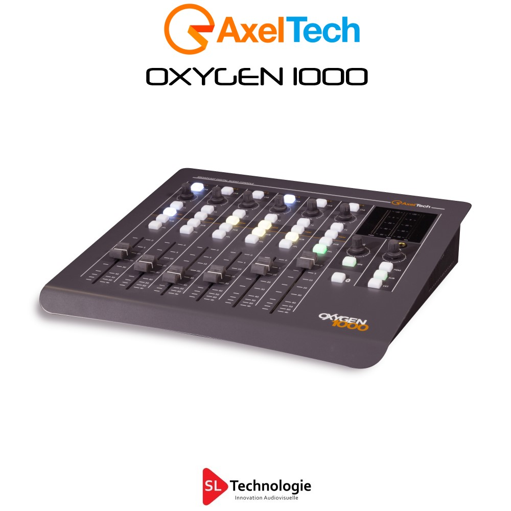 OXYGEN 1000 Bluetooth Axel Tech Console Numérique de Radio Diffusion